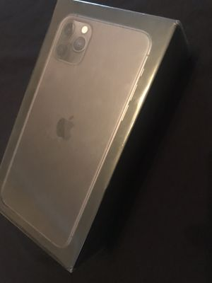 Apple iPhone 11 pro Max 512 GB space gray Brand New Unlocked for Sale in Fremont, CA