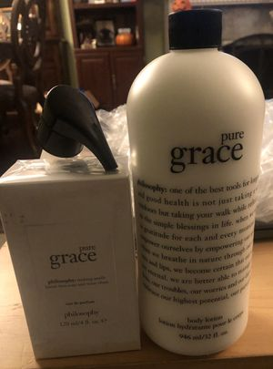 Pure grace parfum and lotion for Sale in Centereach, NY