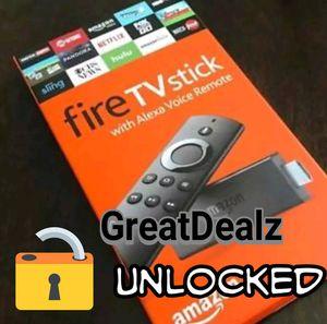 Un1ocked Fire TV Stick Fu11y 1oaded for Sale in Palmetto Bay, FL