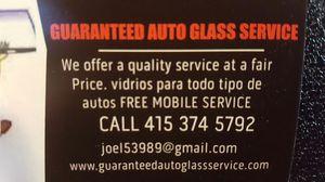 GUARANTEED AUTO GLASS SERVICE for Sale in San Francisco, CA