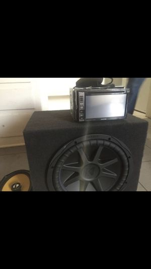 AUDIO SYSTEM for Sale in Long Beach, CA