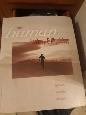 Hardcover Ananomy physiology 8th Edition for Sale in Alexandria, LA
