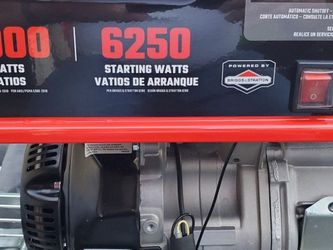 Craftsman 5000-Watt Gasoline Portable Generator - Needs Work for Sale in Lake Oswego,  OR