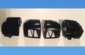 New Harley Davidson Motorcycle Black Chrome Switch Housing Set Part No. 70222-96A for Sale in Hallandale Beach, FL