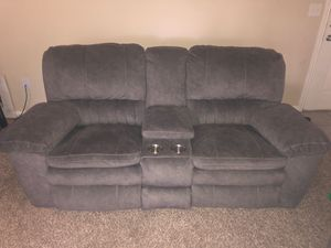Full Recliner plus storage and cup holders! for Sale in Houston, TX