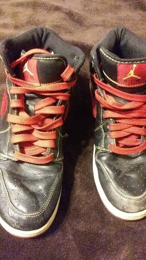 Used Air Jordan 1 Phat Premier Atlanta Hawks sz 12 Suede 375173-062 bred  royal 1dcf27162