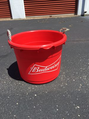 Budweiser coolers/keg holders great for man cave outdoor get togethers or camping trips I have 10 of them!!! for Sale in Columbia, MO