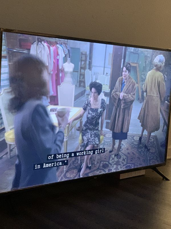50 inch TCL smart TV
