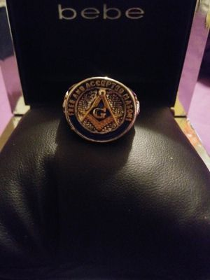 Stainless steel masonic ring size 10 for Sale in Decatur, GA