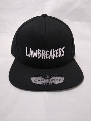 LAWBREAKERS CLOTHING SNAPBACK HAT BRAND NEW for Sale in South Gate, CA