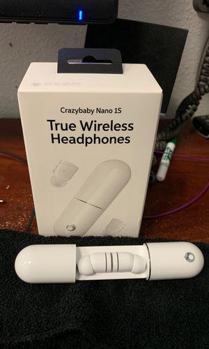 Crazybaby Nano 1S True Wireless Headphones for Sale in Fresno, CA