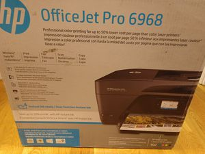 HP Office Jet Pro 6968 color printer, new for Sale in New Bern, NC