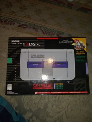 Nintendo 3DS XL SNES Edition (Games Included) for Sale in Palmetto, FL