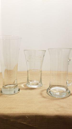 Set of 3 glasses for Sale in Springfield, VA