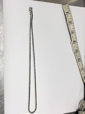 "925 Silver Rope Chain 13.4 Grams 17"" for Sale in Los Angeles, CA"