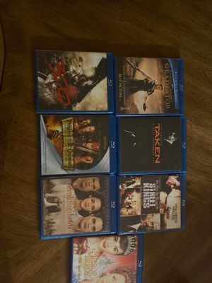 7 Blu-ray movies for $25 for Sale in Artesia, CA