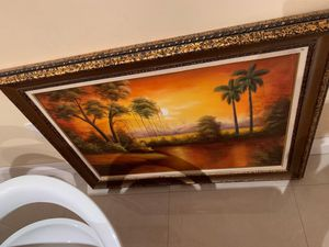 Beautiful large picture frame for Sale in Hialeah, FL