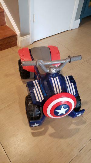 Captain America 4 wheeler car for Sale in Fort Lauderdale, FL