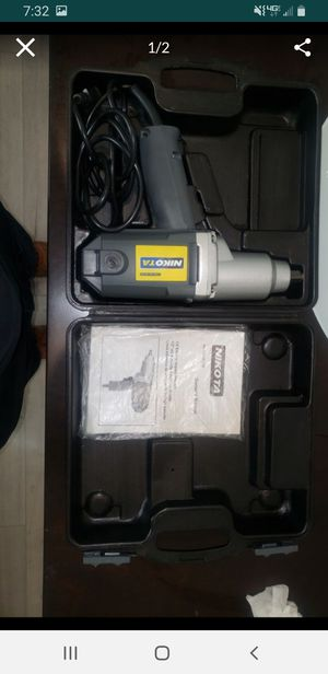 """1/2"""" ELECTRIC IMPACT WRENCH NIKOTA MODEL# 01230 for Sale in Concord, CA"""