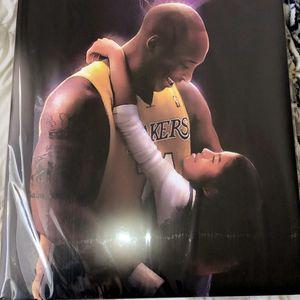 Kobe x Gianna Bryant Poster for Sale in Fresno, CA