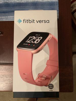 Fitbit Versa for Sale in Virginia Beach, VA