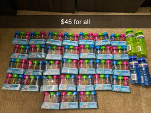 Brand new kids bubbles $45 for all for Sale in Deerfield Beach, FL