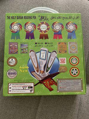 Digital Quran Pen Reader Islamic Quran Book Holy Qur'an Reading Pen for Sale in San Francisco, CA