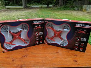 2 Falcon Drones with Camera for Sale in Orting, WA
