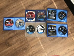 PS4 GAME BUNDLE for Sale in Columbus, OH