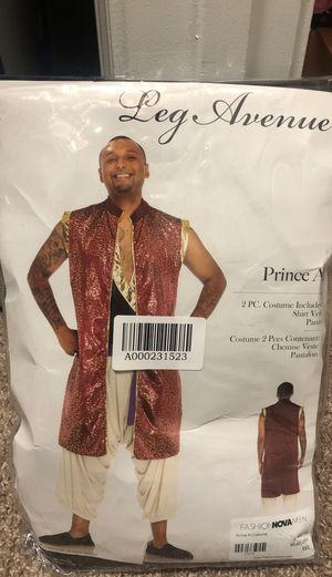 Prince Al Arabian Men's Halloween Costume for Sale in Alpharetta, GA