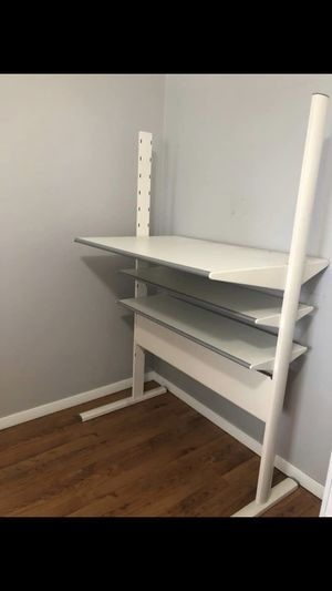White Architectural / Standing Computer Desk for Sale in Youngstown, OH