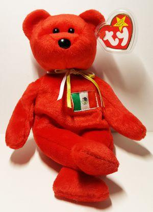 Original Beanie Baby Osito Bear 1999 Mexico Flag for Sale in Tempe, AZ