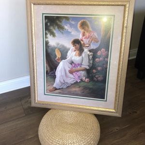 Bright Floral Wall Canvas & Gold Piano Portrait And More for Sale in Hickory Hills, IL