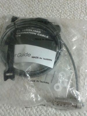 Targus notebook cable lock for Sale in Arlington, VA