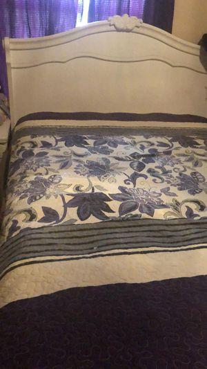 Full size white girls bedroom set for Sale in Alamo, TX
