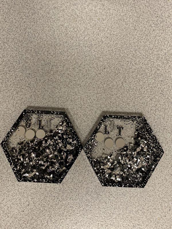 Custom Coaster set of 4 (Customize how you want them)