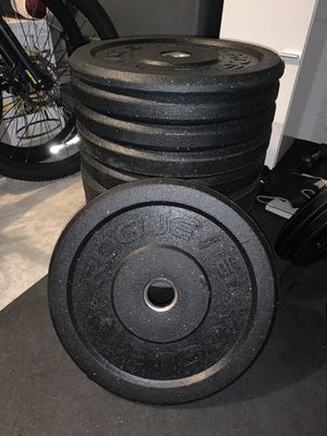 Brand new set of Rogue Bumper Plates 10,15,25,35,45 for Sale in Windermere, FL