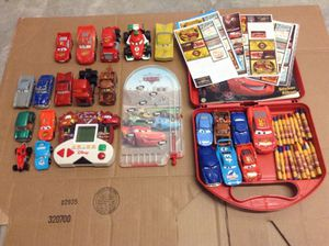 Disney Pesents A Pixar Cars Disney Pixar Cars Lot Cars Treasure Kit with Cars, Sticker Book, Stickers and Crayons for Sale in Miami, FL