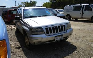 2004 JEEP GRAND CHEROKEE- -- PARTS FOR. SALE/ / PARTES SOLAMENTE #6768 for Sale in Mesquite, TX
