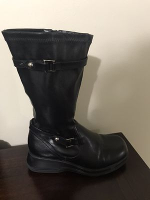 Girls Smart Fits Black Boots Size 13 1/2 for Sale in Miami, FL