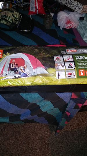 Brand new never opened Ozark Trail Outdoor Equipment 6-person Dome Tent for Sale in Las Vegas, NV
