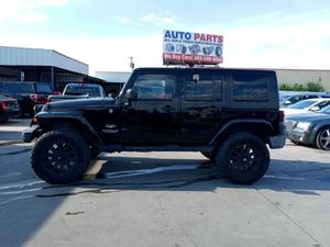 2009 Jeep Wrangler Unlimited for Sale in Dallas, TX
