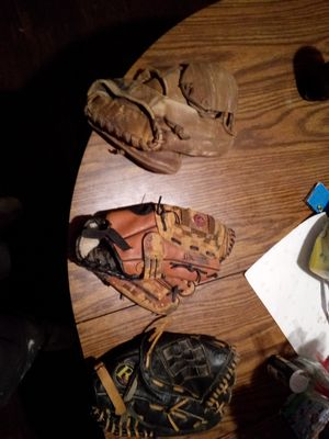 Baseball gloves $30 for all for Sale in Cleveland, OH