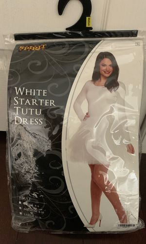 Spirit Halloween white starter Tutu dress for Sale in Henderson, NV