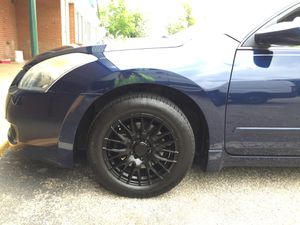 Rims on a 2009 Nissan Altima will trade for stock n a hundred bucks brand new tires for Sale in Mechanicsville, VA