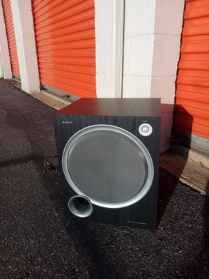 Subwoofer sony for Sale in Hyattsville, MD