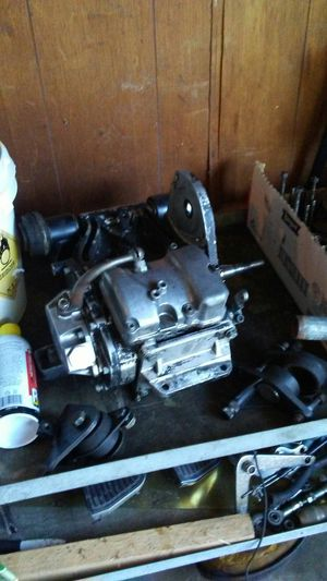 1981 Harley Davidson 5 speed transmission off of a. Shovelhead motor 1981 tourglide for Sale in North County, MO