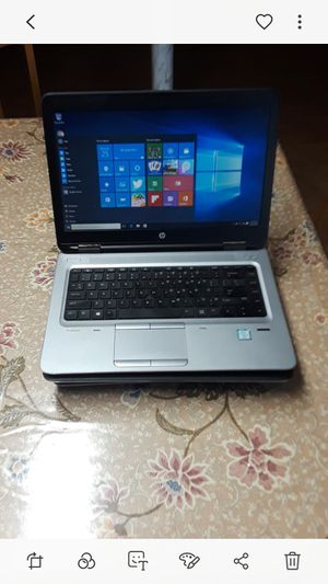 hp probook 640g2 business grade laptop fast 6th gen i5 excellent condition for Sale in Parkville, MD