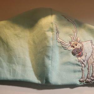100% Cotton Face mask Embroidered- Frozen- Sven for Sale in Arlington, VA