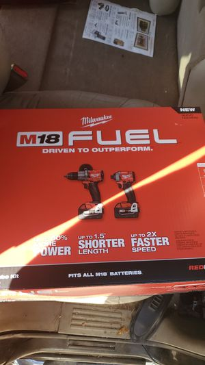 BRAND NEW/ UNOPENED Milwaukee impact driver/hammerdrill combo for Sale in Tempe, AZ